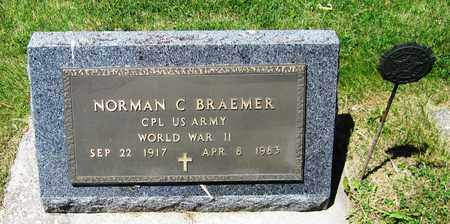BRAEMER, NORMAN C. - Kewaunee County, Wisconsin | NORMAN C. BRAEMER - Wisconsin Gravestone Photos