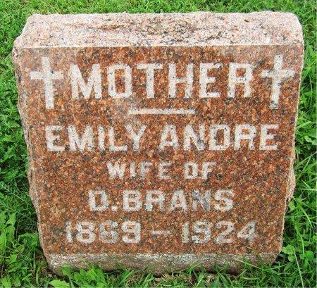BRANS, EMILY - Kewaunee County, Wisconsin | EMILY BRANS - Wisconsin Gravestone Photos