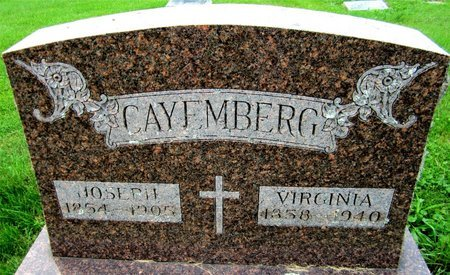 CAYEMBERG, VIRGINIA - Kewaunee County, Wisconsin | VIRGINIA CAYEMBERG - Wisconsin Gravestone Photos