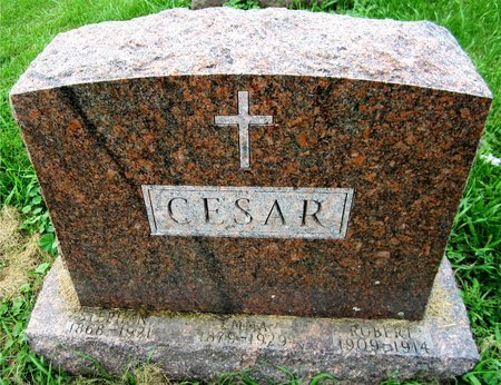 CESAR, ROBERT - Kewaunee County, Wisconsin | ROBERT CESAR - Wisconsin Gravestone Photos