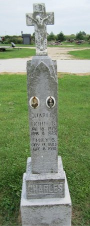 CHARLES, EMILY - Kewaunee County, Wisconsin | EMILY CHARLES - Wisconsin Gravestone Photos