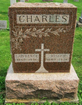 CHARLES, LAWRENCE - Kewaunee County, Wisconsin | LAWRENCE CHARLES - Wisconsin Gravestone Photos