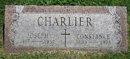 CHARLIER, CONSTANCE - Kewaunee County, Wisconsin   CONSTANCE CHARLIER - Wisconsin Gravestone Photos