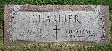 CHARLIER, JOSEPH - Kewaunee County, Wisconsin | JOSEPH CHARLIER - Wisconsin Gravestone Photos