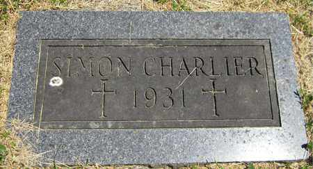 CHARLIER, SIMON - Kewaunee County, Wisconsin | SIMON CHARLIER - Wisconsin Gravestone Photos