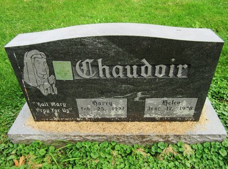 CHAUDOIR, HELEN - Kewaunee County, Wisconsin | HELEN CHAUDOIR - Wisconsin Gravestone Photos