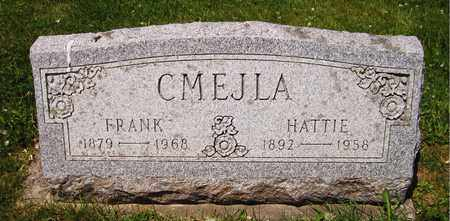 CMEJLA, HATTIE - Kewaunee County, Wisconsin   HATTIE CMEJLA - Wisconsin Gravestone Photos