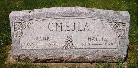 CMEJLA, HATTIE - Kewaunee County, Wisconsin | HATTIE CMEJLA - Wisconsin Gravestone Photos