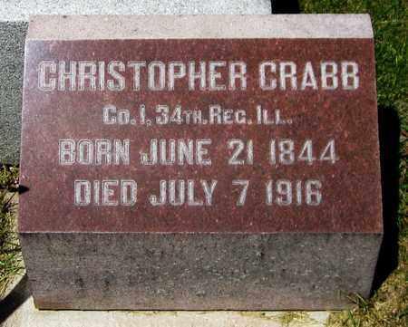 CRABB, CHRISTOPHER - Kewaunee County, Wisconsin | CHRISTOPHER CRABB - Wisconsin Gravestone Photos