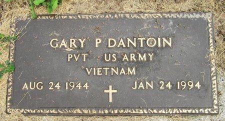 DANTOIN, GARY P. - Kewaunee County, Wisconsin | GARY P. DANTOIN - Wisconsin Gravestone Photos