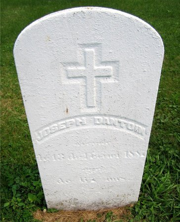 DANTOIN, JOSEPH - Kewaunee County, Wisconsin   JOSEPH DANTOIN - Wisconsin Gravestone Photos