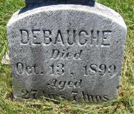 DEBAUCHE, HONORA - Kewaunee County, Wisconsin | HONORA DEBAUCHE - Wisconsin Gravestone Photos