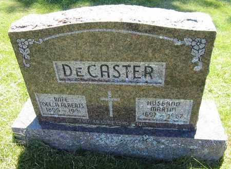 ALBERTS DECASTER, DELLA - Kewaunee County, Wisconsin | DELLA ALBERTS DECASTER - Wisconsin Gravestone Photos