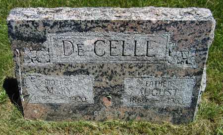 DEGELLE, AUGUST - Kewaunee County, Wisconsin | AUGUST DEGELLE - Wisconsin Gravestone Photos