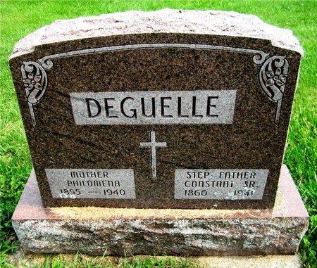 DEGUELLE, PHILOMENA - Kewaunee County, Wisconsin   PHILOMENA DEGUELLE - Wisconsin Gravestone Photos