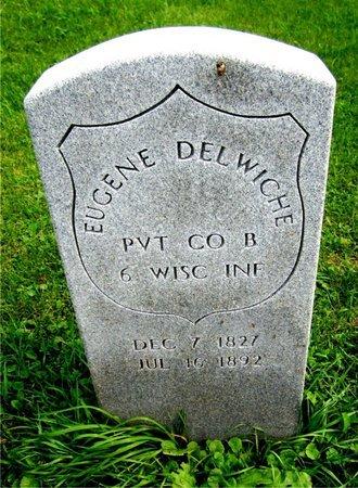 DELWICHE, EUGENE - Kewaunee County, Wisconsin | EUGENE DELWICHE - Wisconsin Gravestone Photos