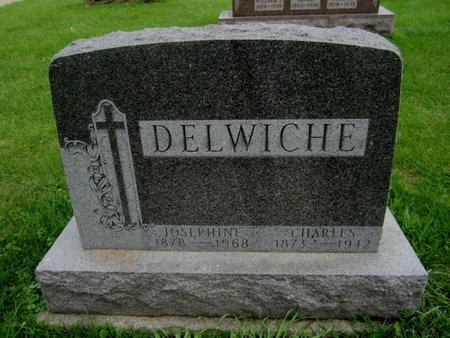 DELWICHE, CHARLES - Kewaunee County, Wisconsin | CHARLES DELWICHE - Wisconsin Gravestone Photos
