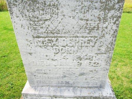 DEPREY, MARY - Kewaunee County, Wisconsin | MARY DEPREY - Wisconsin Gravestone Photos