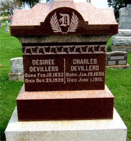 DEVILLERS, CHARLES - Kewaunee County, Wisconsin | CHARLES DEVILLERS - Wisconsin Gravestone Photos