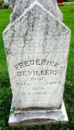 DEVILLERS, FREDERICK - Kewaunee County, Wisconsin | FREDERICK DEVILLERS - Wisconsin Gravestone Photos