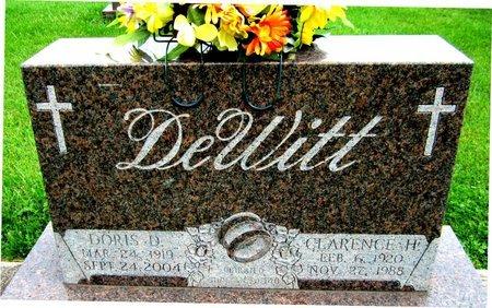 DEWITT, DORIS - Kewaunee County, Wisconsin   DORIS DEWITT - Wisconsin Gravestone Photos