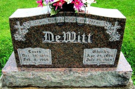 DEWITT, CHARLES - Kewaunee County, Wisconsin | CHARLES DEWITT - Wisconsin Gravestone Photos