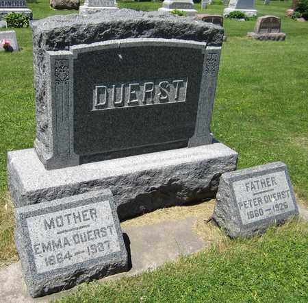 DUERST, PETER - Kewaunee County, Wisconsin | PETER DUERST - Wisconsin Gravestone Photos