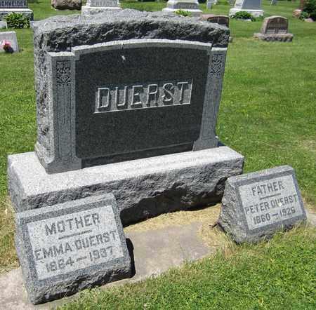 DUERST, PETER - Kewaunee County, Wisconsin   PETER DUERST - Wisconsin Gravestone Photos