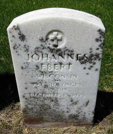 EBERT, JOHANNES - Kewaunee County, Wisconsin | JOHANNES EBERT - Wisconsin Gravestone Photos