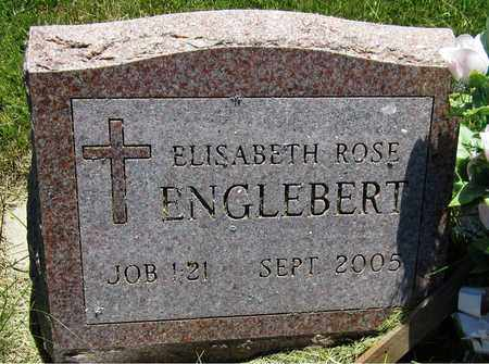 ENGLEBERT, ELISABETH ROSE - Kewaunee County, Wisconsin | ELISABETH ROSE ENGLEBERT - Wisconsin Gravestone Photos