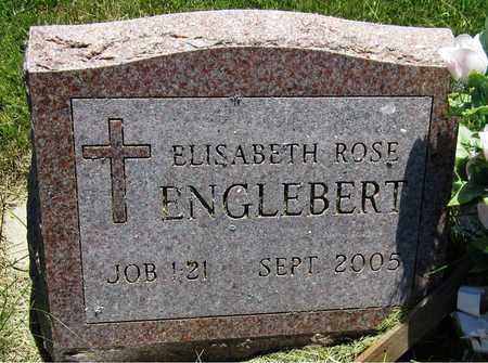 ENGLEBERT, ELISABETH ROSE - Kewaunee County, Wisconsin | ELISABETH ROSE ENGLEBERT - Wisconsin Gravestone Photos