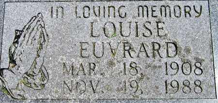 EUVRARD, LOUISE - Kewaunee County, Wisconsin   LOUISE EUVRARD - Wisconsin Gravestone Photos