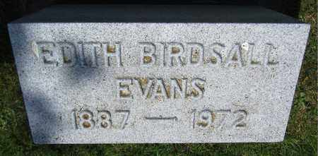 EVANS, EDITH - Kewaunee County, Wisconsin | EDITH EVANS - Wisconsin Gravestone Photos