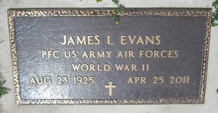 EVANS, JAMES L. - Kewaunee County, Wisconsin   JAMES L. EVANS - Wisconsin Gravestone Photos