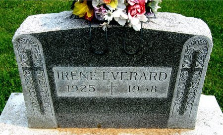 EVERARD, IRENE - Kewaunee County, Wisconsin | IRENE EVERARD - Wisconsin Gravestone Photos
