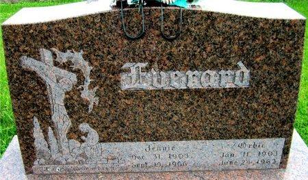 EVERARD, JENNIE - Kewaunee County, Wisconsin | JENNIE EVERARD - Wisconsin Gravestone Photos