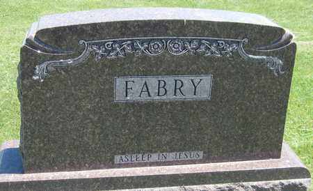 FABRY, FAMILY - Kewaunee County, Wisconsin | FAMILY FABRY - Wisconsin Gravestone Photos