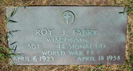 FABRY, ROY J. - Kewaunee County, Wisconsin | ROY J. FABRY - Wisconsin Gravestone Photos