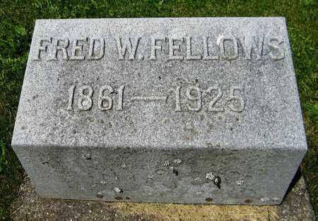 FELLOWS, FRED W. - Kewaunee County, Wisconsin   FRED W. FELLOWS - Wisconsin Gravestone Photos