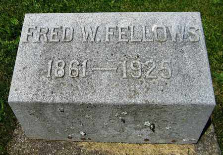 FELLOWS, FRED W. - Kewaunee County, Wisconsin | FRED W. FELLOWS - Wisconsin Gravestone Photos