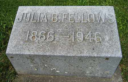 FELLOWS, JULIA B. - Kewaunee County, Wisconsin | JULIA B. FELLOWS - Wisconsin Gravestone Photos