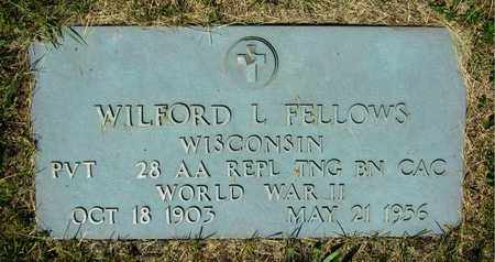 FELLOWS, WILFORD L. - Kewaunee County, Wisconsin | WILFORD L. FELLOWS - Wisconsin Gravestone Photos
