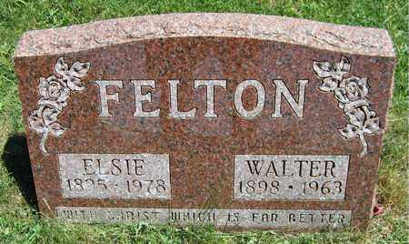 FELTON, WALTER - Kewaunee County, Wisconsin | WALTER FELTON - Wisconsin Gravestone Photos