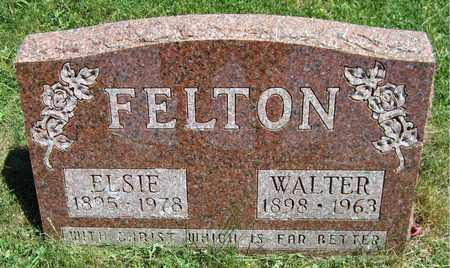 FELTON, ELSIE - Kewaunee County, Wisconsin | ELSIE FELTON - Wisconsin Gravestone Photos