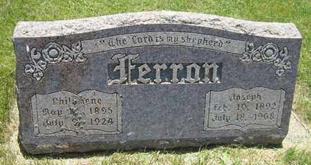 FERRON, PHILOMENE - Kewaunee County, Wisconsin | PHILOMENE FERRON - Wisconsin Gravestone Photos