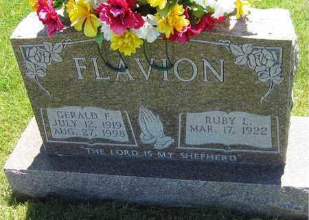 FLAVION, GERALD F. - Kewaunee County, Wisconsin | GERALD F. FLAVION - Wisconsin Gravestone Photos