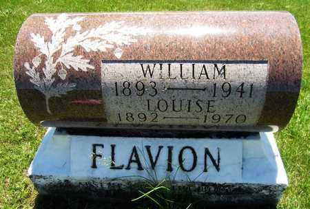 FLAVION, LOUISE - Kewaunee County, Wisconsin   LOUISE FLAVION - Wisconsin Gravestone Photos