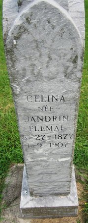 ANDRIN FLEMAL, CELINA - Kewaunee County, Wisconsin | CELINA ANDRIN FLEMAL - Wisconsin Gravestone Photos