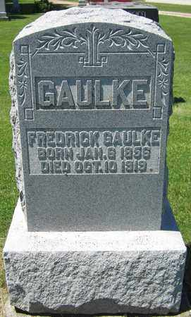 GAULKE, FREDRICK - Kewaunee County, Wisconsin   FREDRICK GAULKE - Wisconsin Gravestone Photos