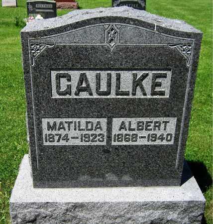 GAULKE, MATILDA - Kewaunee County, Wisconsin | MATILDA GAULKE - Wisconsin Gravestone Photos